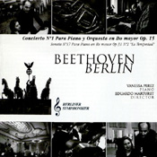 BEETHOVEN - PIANO CONCERTO NO. 1 Art cover