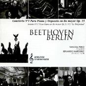 BEETHOVEN - PIANO CONCERTO NO. 1 Art cover