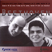BEETHOVEN - PIANO CONCERTO NO. 2 Art cover